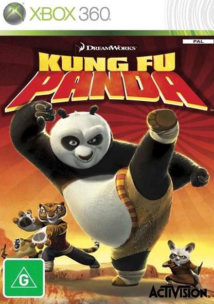 Kung Fu Panda Xbox 360 Cover